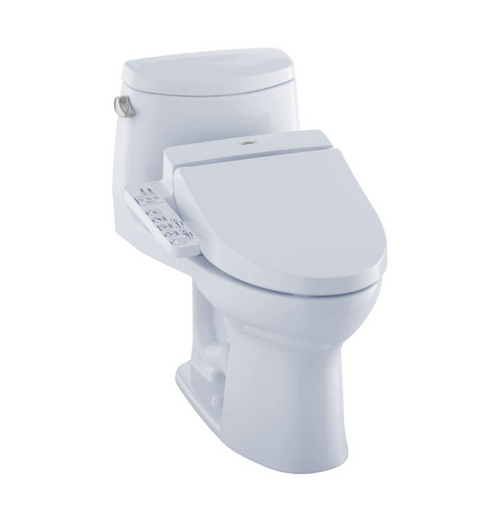 TOTO UltraMax II WASHLET+ C100 One-Piece Toilet and Bidet System - 1.28 GPF