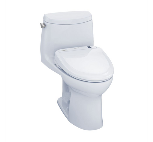 TOTO UltraMax II Washlet+ S350e One-Piece Toilet and Bidet System - 1.28 GPF