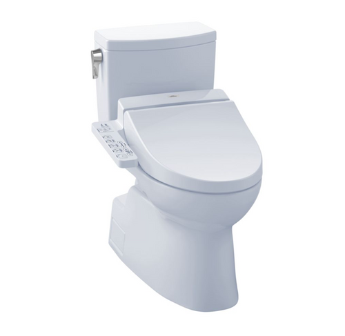 TOTO Vespin II 1G WASHLET+ C100 Two-Piece Toilet and Bidet System - 1.0 GPF
