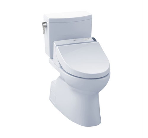 TOTO Vespin II 1G Washlet+ C200 Two-Piece Toilet and Bidet System - 1.0 GPF