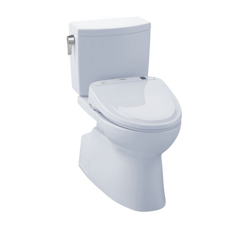 TOTO Vespin II 1G Washlet+ S300e Two-Piece Toilet and Bidet System - 1.0 GPF