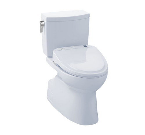 TOTO Vespin II 1G Washlet+ S350e Two-Piece Toilet and Bidet System - 1.0 GPF