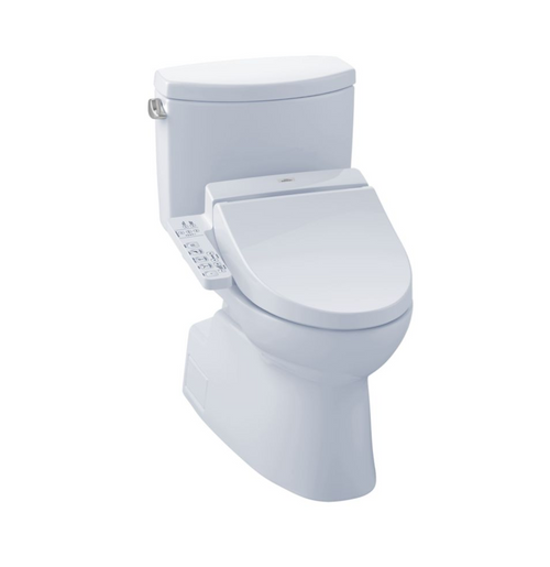 TOTO Vespin II WASHLET+ C100 Two-Piece Toilet and Bidet System - 1.28 GPF