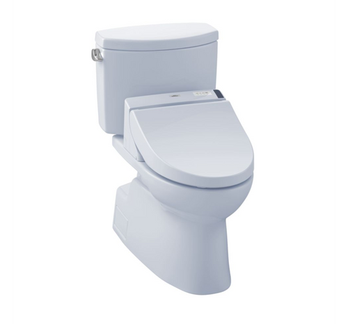 TOTO Vespin II Washlet+ C200 Two-Piece Toilet and Bidet System- 1.28 GPF