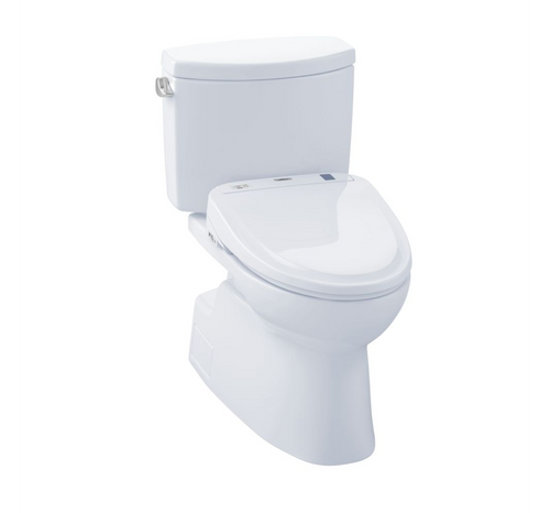 TOTO Vespin II Washlet+ S350e Two-Piece Toilet and Bidet System - 1.28 GPF
