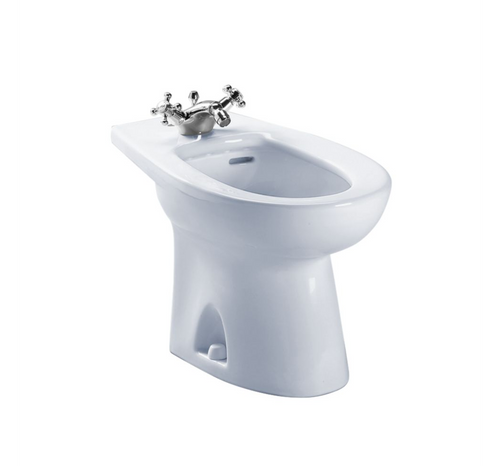 Piedmont Deck Mount Bidet in Cotton White