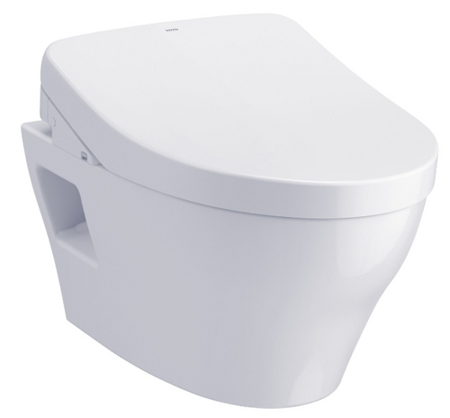 EP WASHLET®+ S500e Wall-Hung Toilet - 1.28 GPF & 0.9 GPF  CWT4283046CMFG