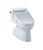TOTO Carolina II WASHLET+ C200 One-Piece Toilet - 1.28 GPF