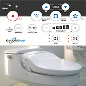 Surprising Galaxy Bidets 5000 And 4000 Bidet Seat Editors Review Theyellowbook Wood Chair Design Ideas Theyellowbookinfo