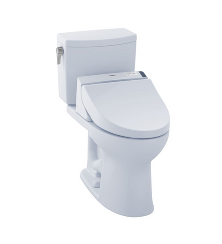 Toto Drake Ii Washlet 1g C200 Two Piece Toilet With 1 0 Gpf