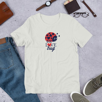 Love Bug Short-Sleeve Unisex T-Shirt