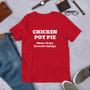 Chicken Pot Pie Short-Sleeve Unisex T-Shirt