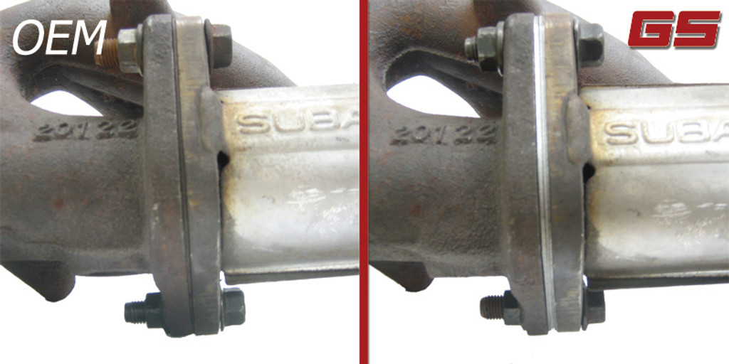 GrimmSpeed Exhaust Manifold to Crosspipe Gasket(pair) 2X THICK - Subaru