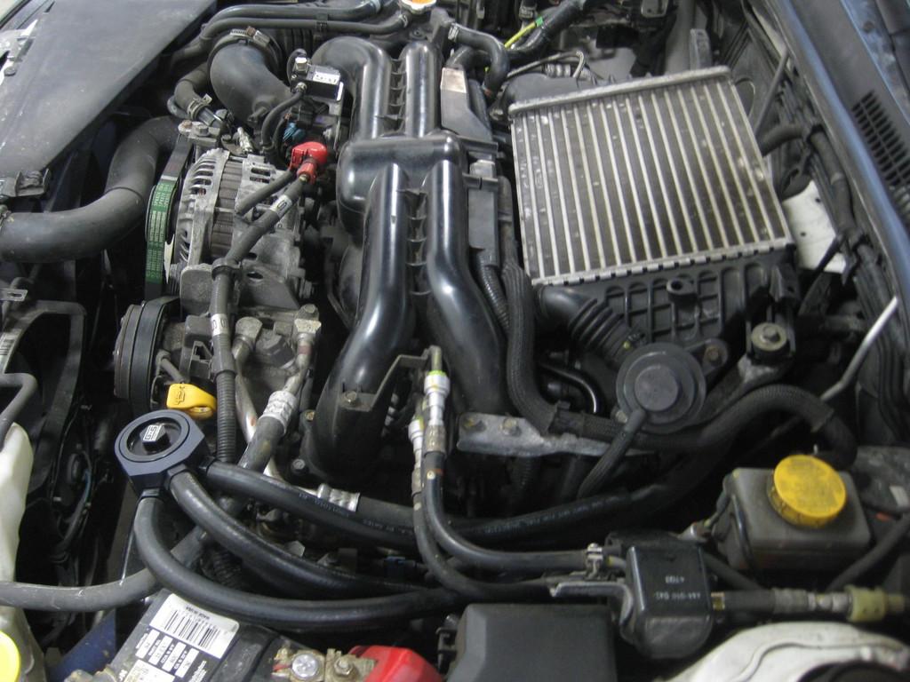 GrimmSpeed Subaru Airl Oil Separator AOS WRX STi LGT