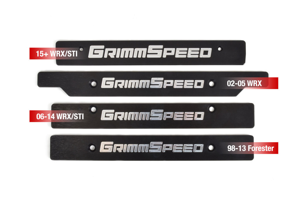 GrimmSpeed Front License Plate Delete