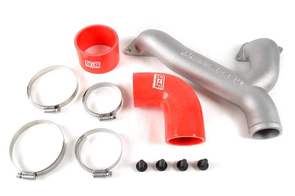 Top Mount Intercooler Aluminum Y-Pipe Kit - Subaru