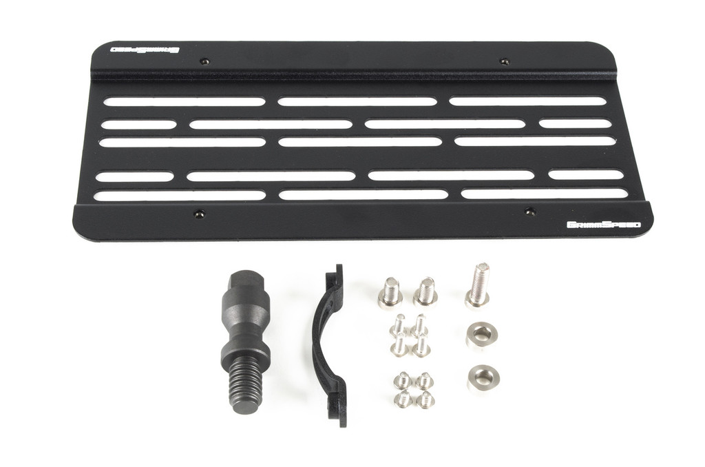 License Plate Relocation Kit - 2016+ Ford Focus RS