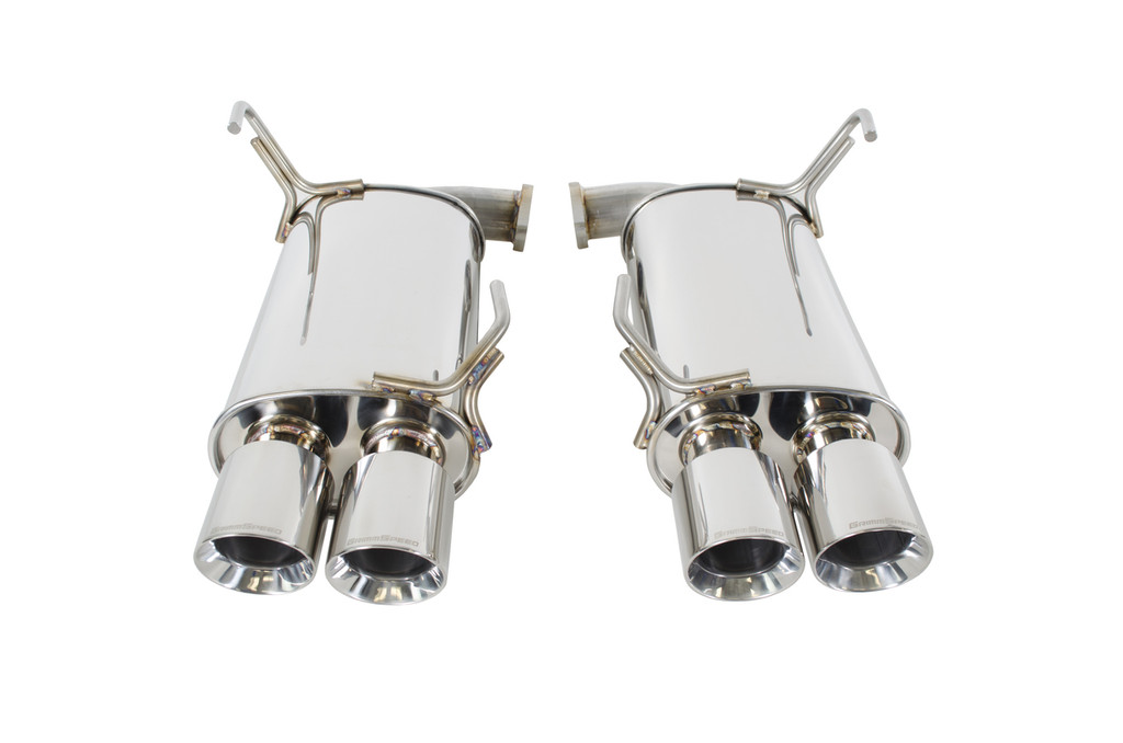 Catback Exhaust System - Un-Resonated - 11-19 WRX/STI Sedan