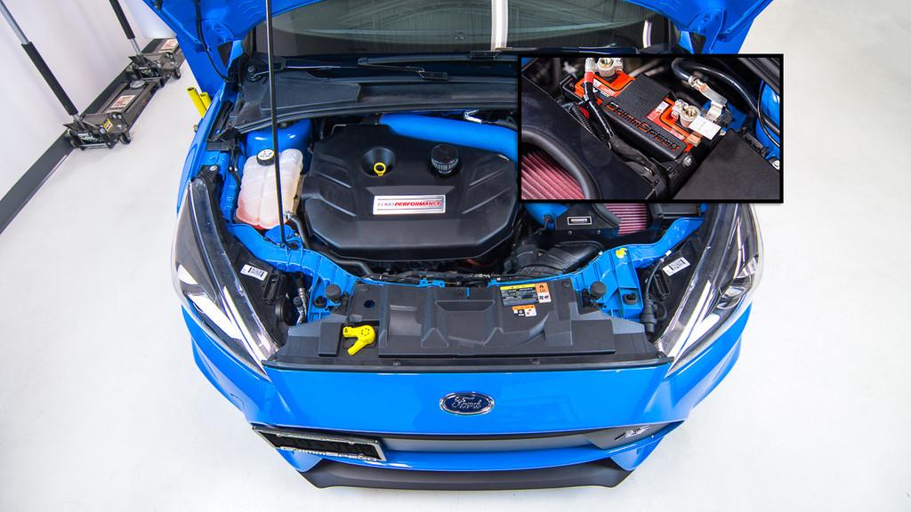 Lightweight Battery Mount Kit - 2013+ Ford Focus ST, 2016+ Focus RS