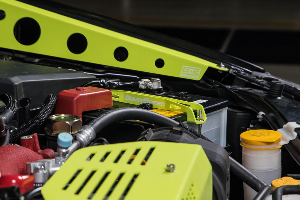 Lightweight Battery Tiedown