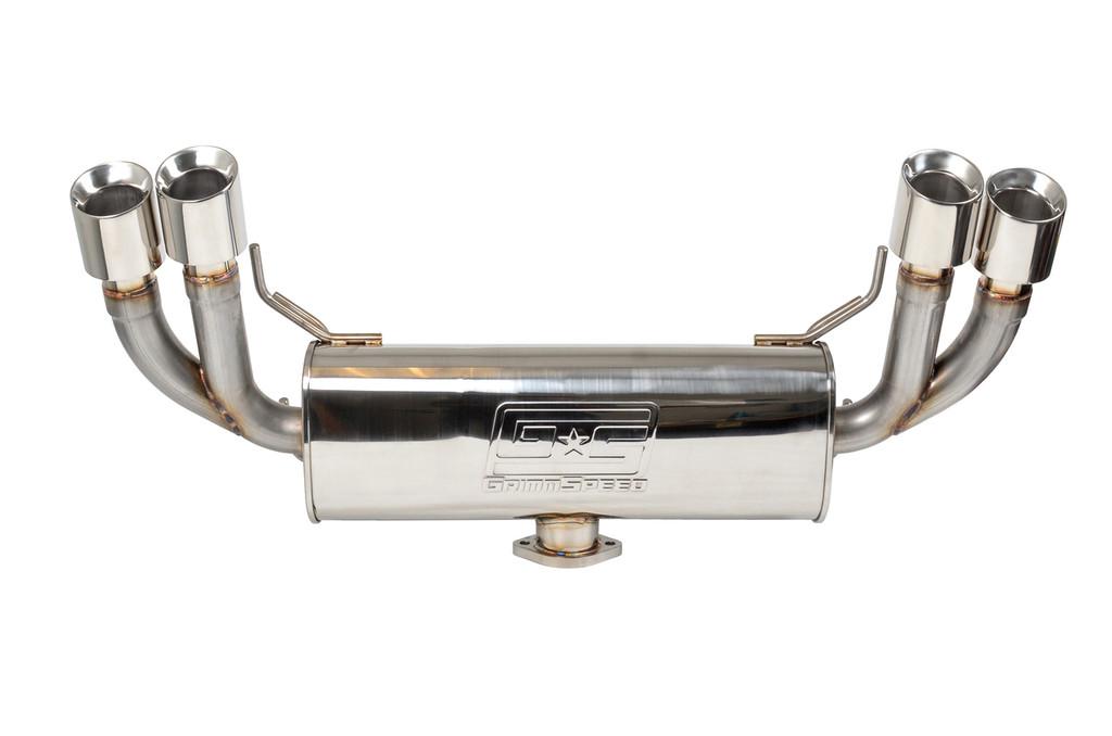 Catback Exhaust System - Resonated - 11-14 WRX , 08-14 STI Hatchback