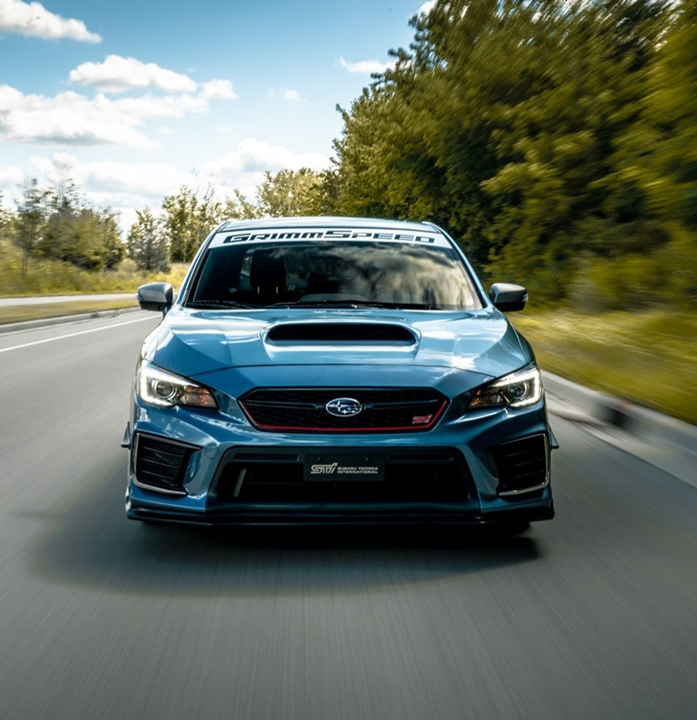 GrimmSpeed Windshield Banner - Free U.S. Shipping!