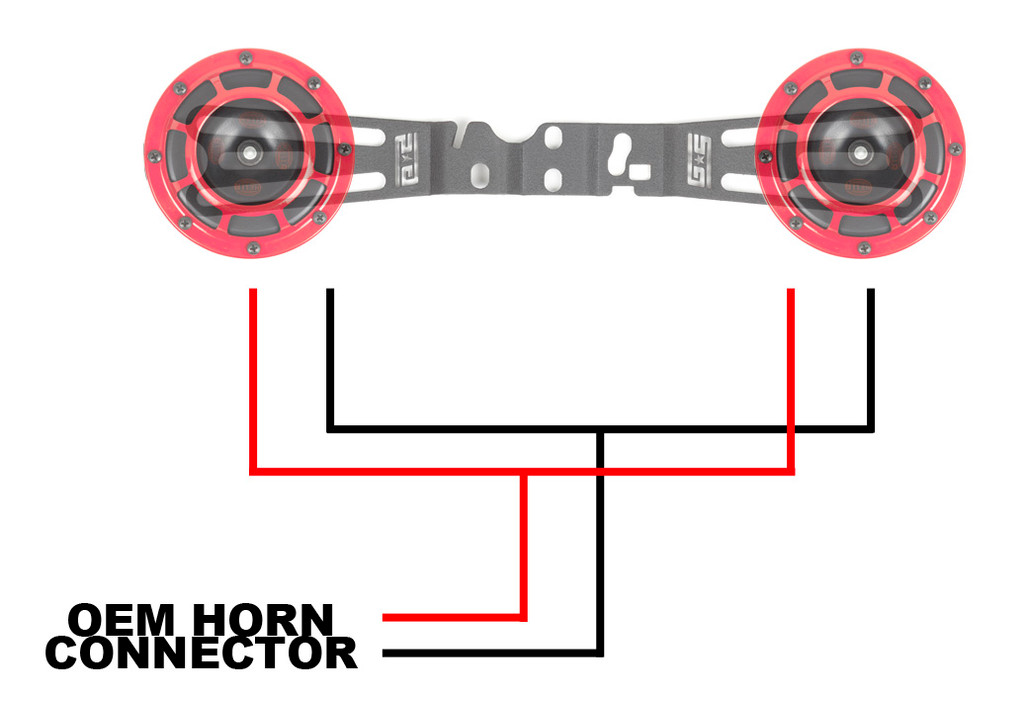 Hella Horn Wiring Harness 18+ WRX/STI