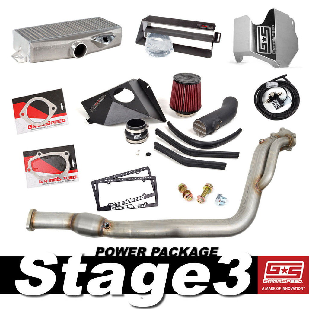 Stage 3 Power Package - 2015-19 Subaru STI