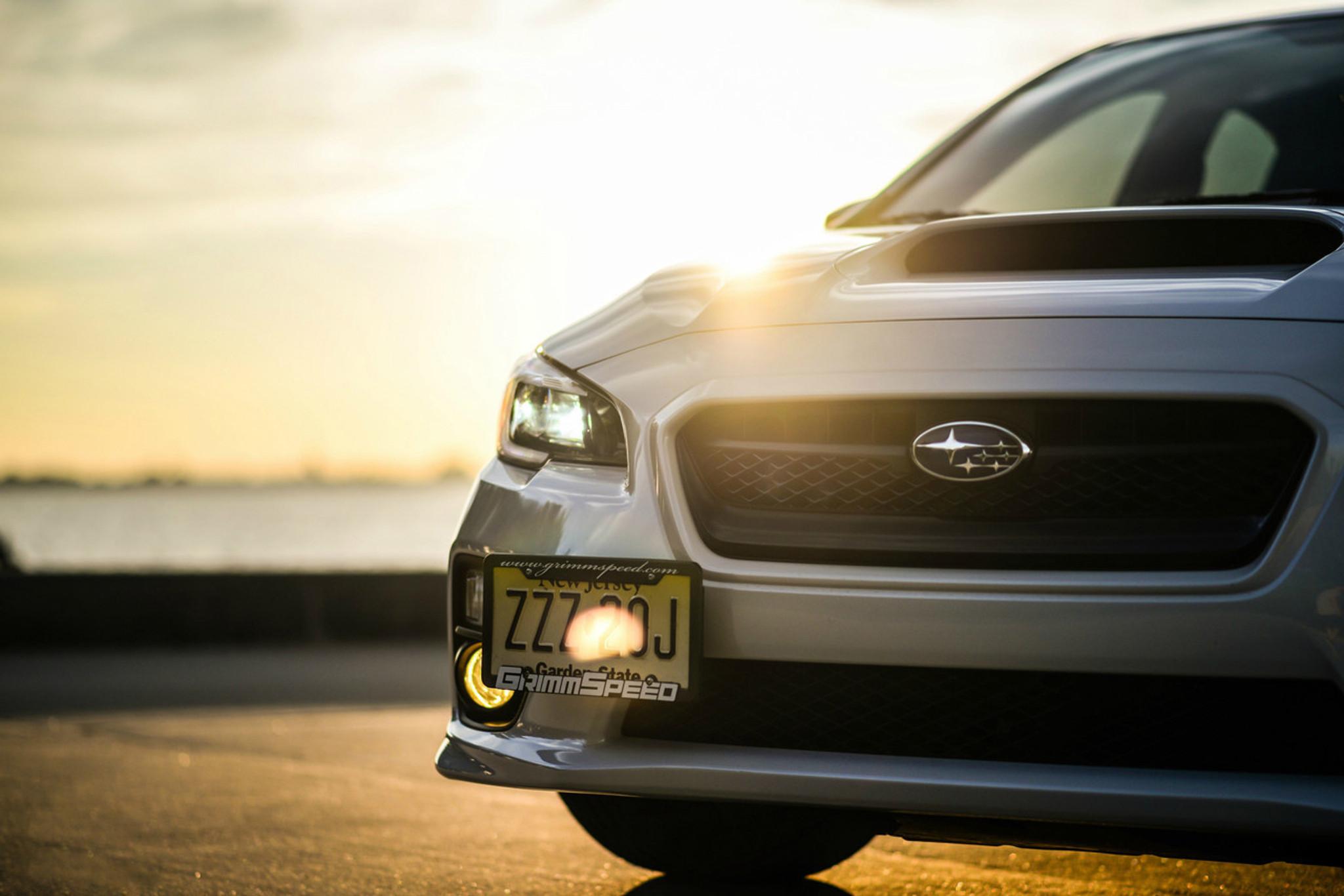 License Plate Relocation Kit - 15-17 Subaru WRX/STI, 12-16