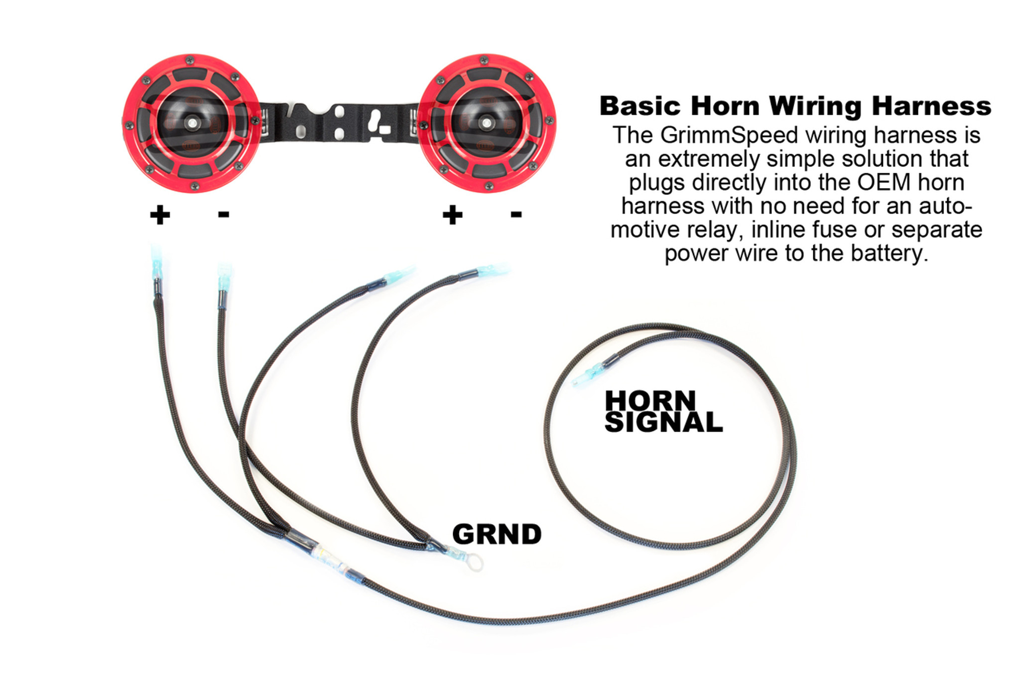 Horn Diagram Wiring