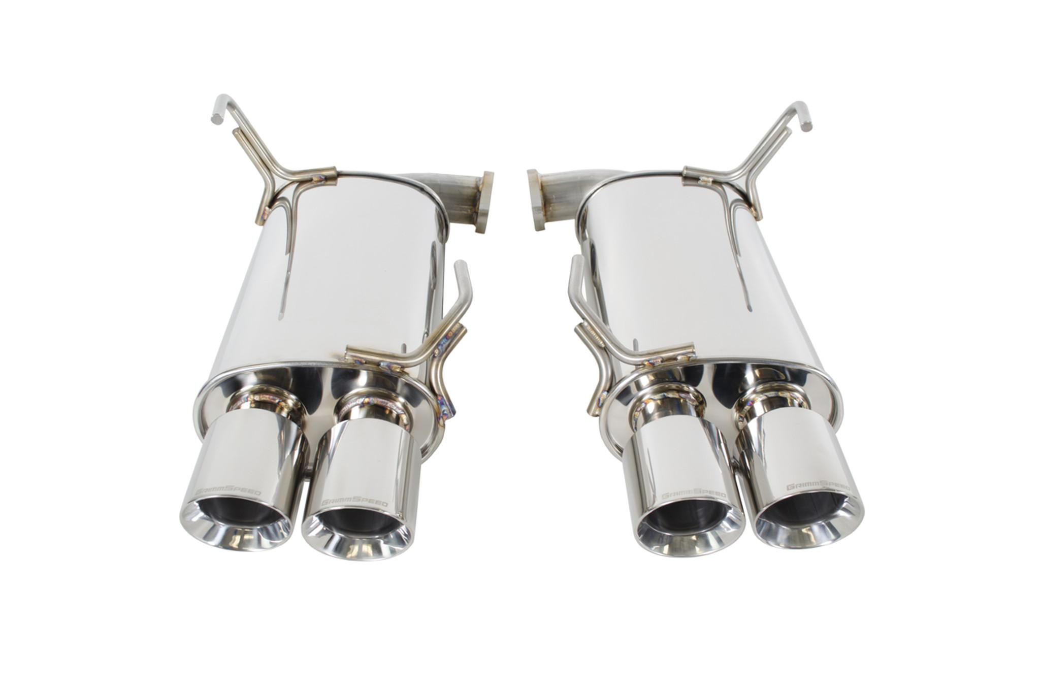 Catback Exhaust System - Resonated - 11-19 WRX/STI Sedan