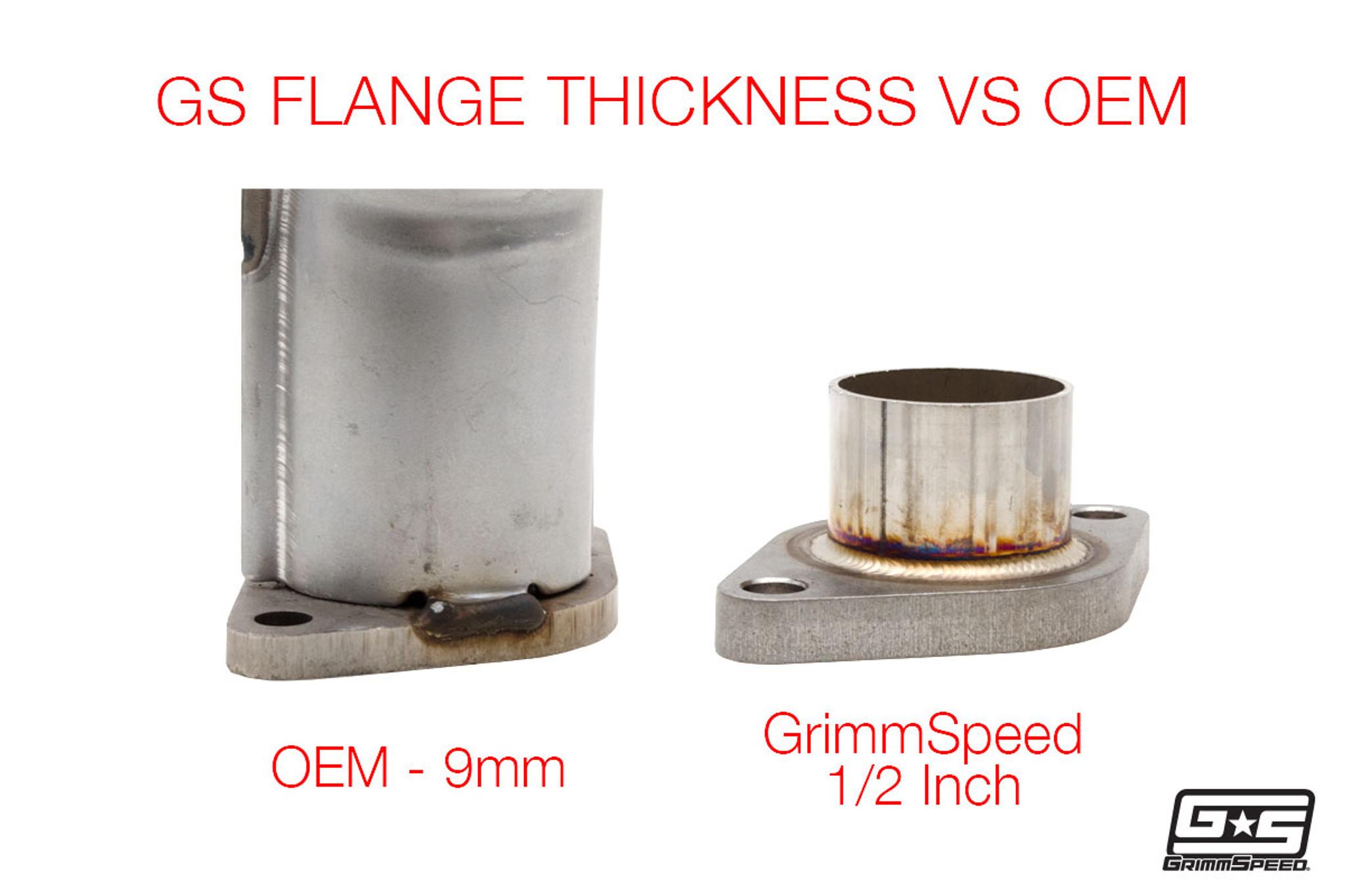 GrimmSpeed 38mm 2-Bolt External Wastegate EWG Gasket