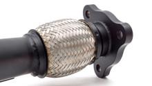 External Wastegate Up Pipe w/ Dump Tube 3-Bolt Inlet, 44/45mm V-Band WRX/STI/LGT/FXT