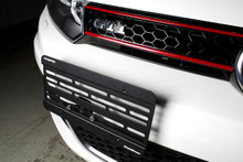 License Plate Relocation Kit - Volkswagen MK6 Golf/GTI
