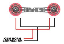 Hella Horn Wiring Harness 15+ WRX/STI