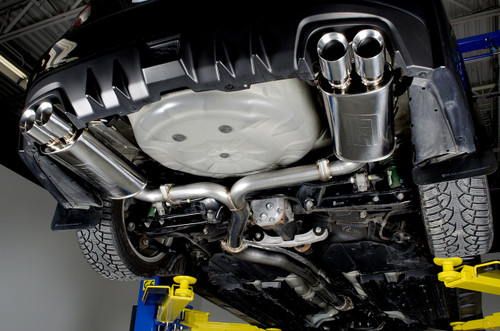 Catback Exhaust System - Un-Resonated - 11-20 WRX/STI Sedan