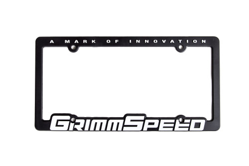 License Plate Frame (Single)