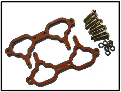 GrimmSpeed Phenolic Thermal Manifold Spacer 8mm - Impreza 98, Legacy 96-99 'Phase 1 Engine'