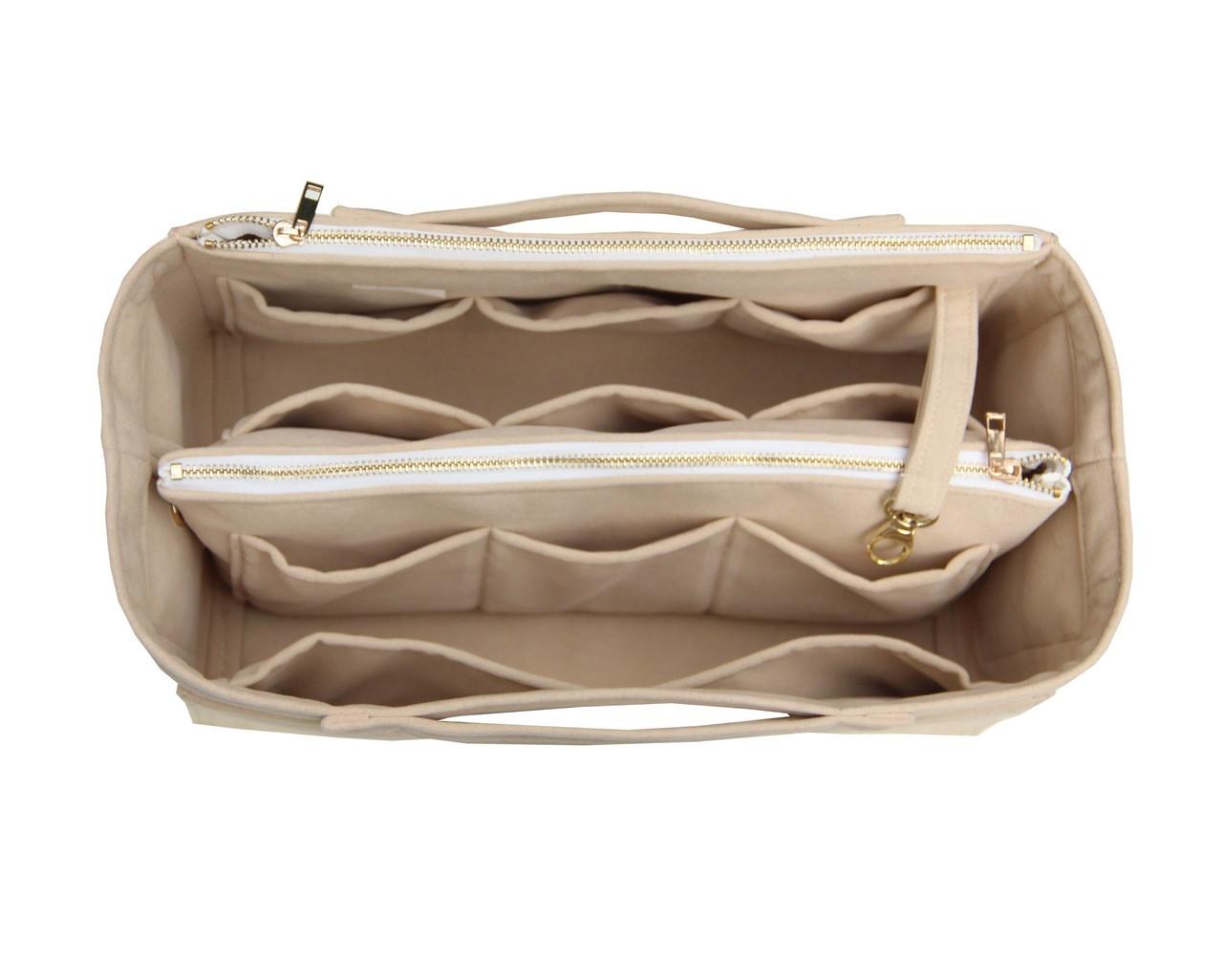 58211bae217 Customizable Velvet Tote Bag Organizer