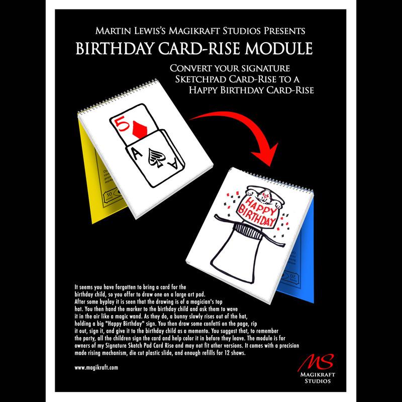 Birthday Cardrise Module Martin Lewis