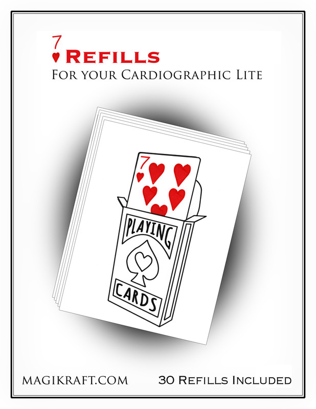 Cardiographic Lite Red 7H Refills