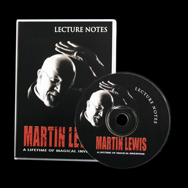 Lecture Notes CD Martin Lewis