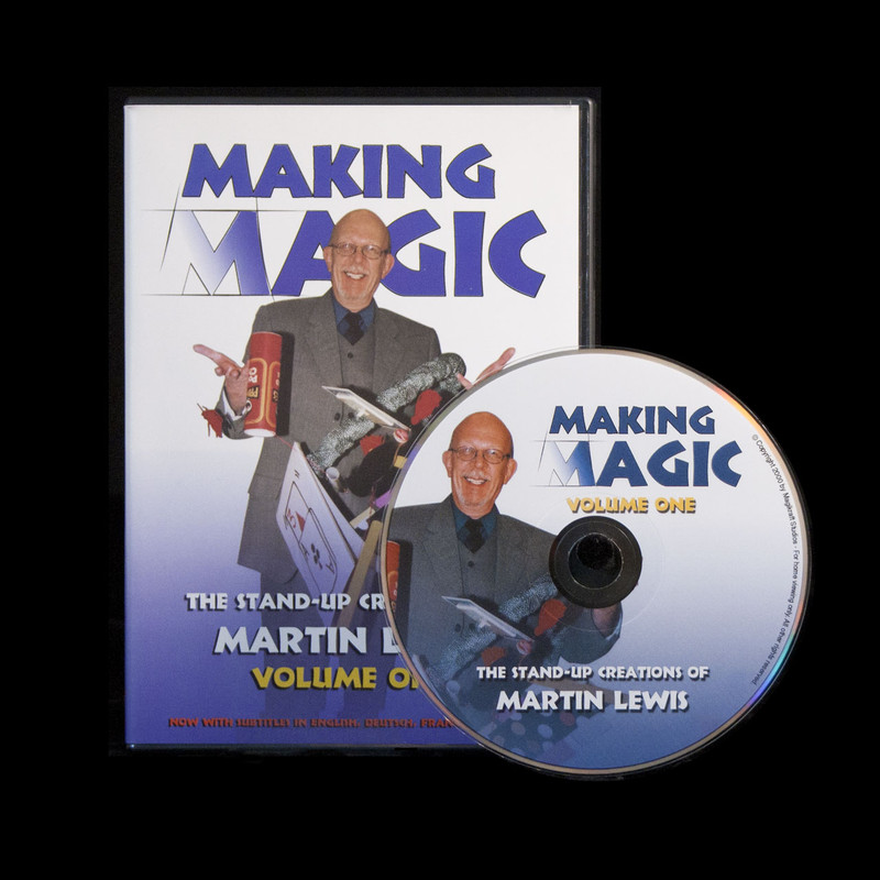 Making Magic One DVD, Martin Lewis