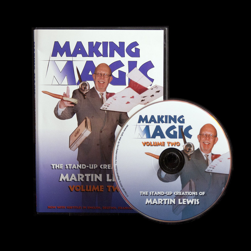 Making Magic Volume Two DVD, Martin Lewis