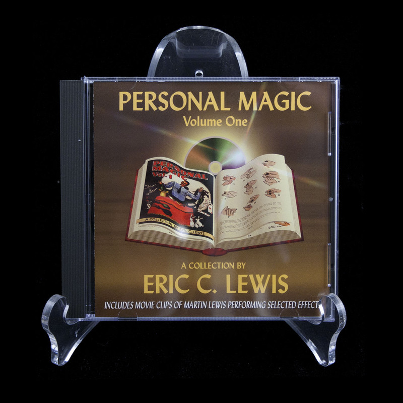 Personal Magic CD Book, Eric Lewis