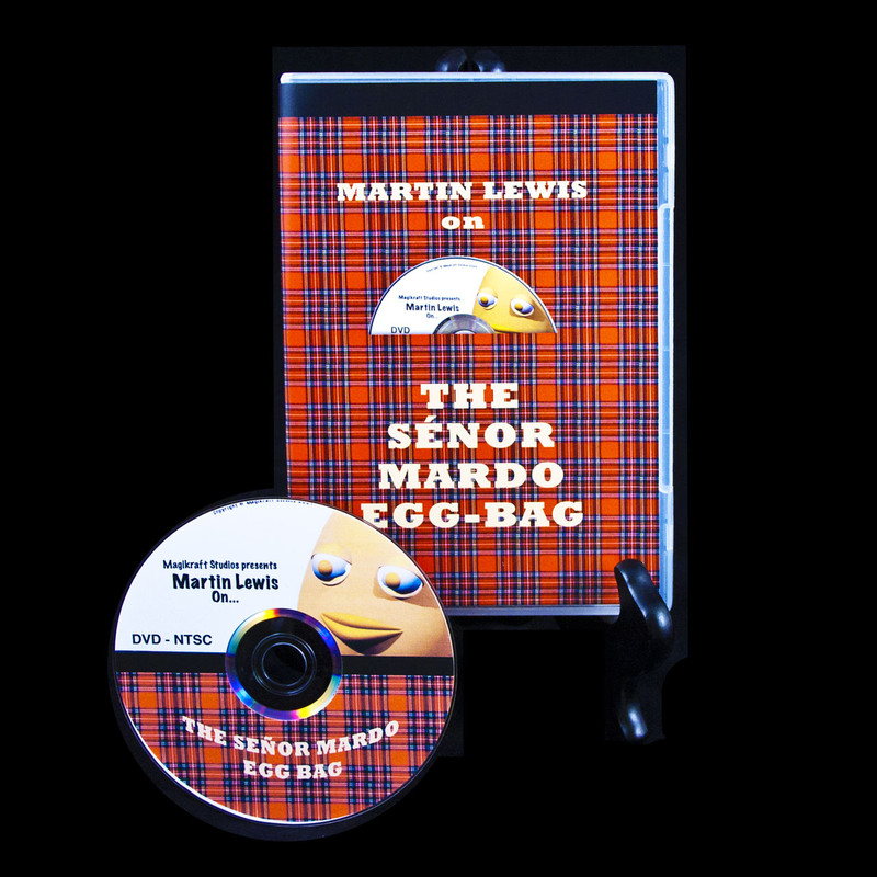 Senor Mardo Eggbag DVD Martin Lewis
