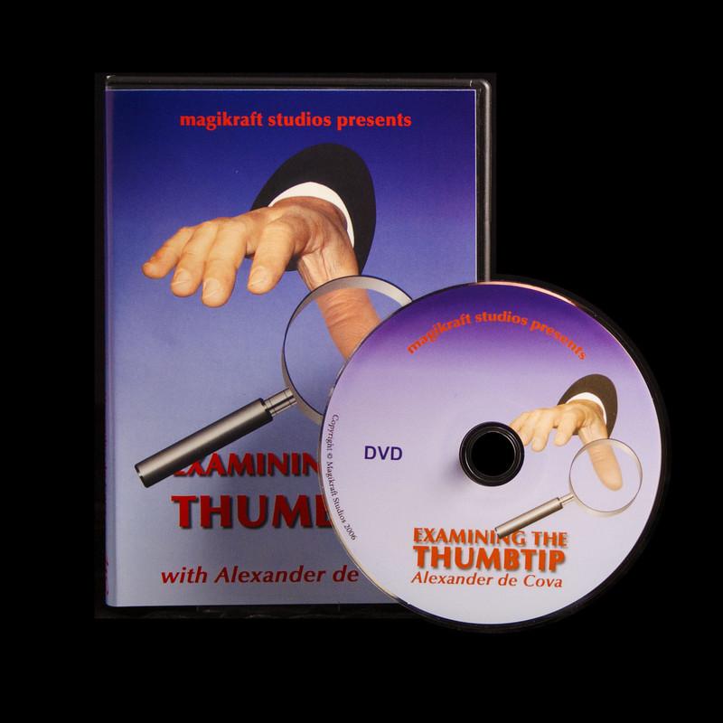 examining the thumb tip Alexander decova Martin Lewis