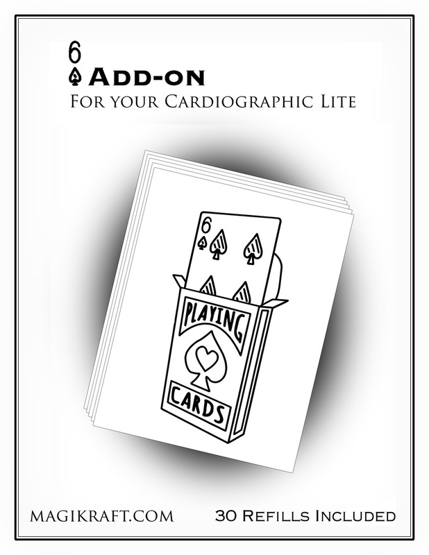 cardio lite black add-on 6D