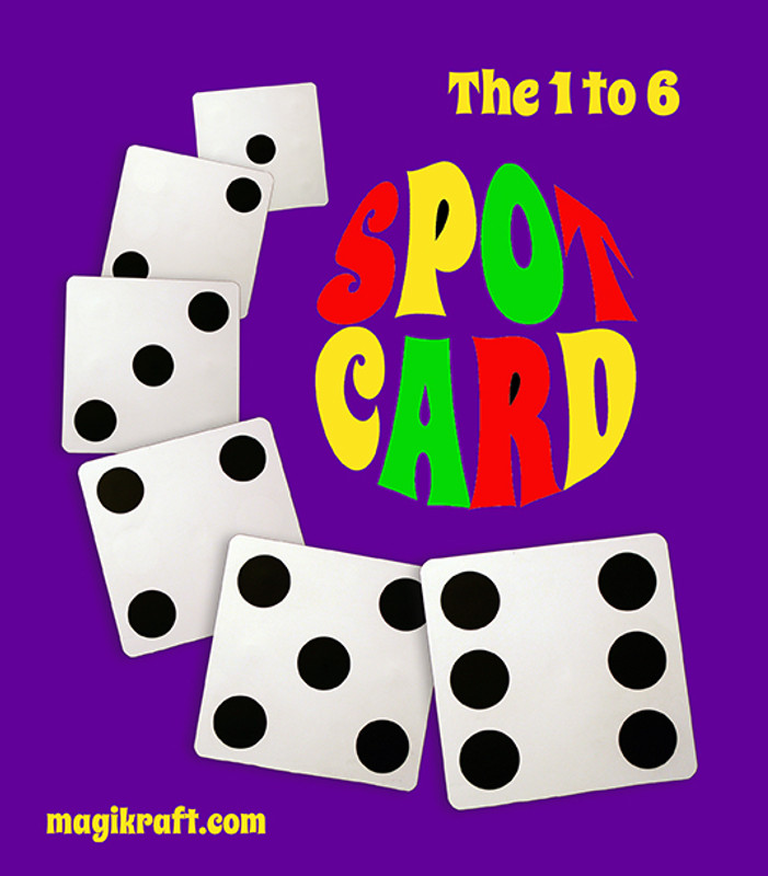 One to Six Spot Card