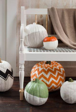 Patterned Pumpkins